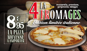 Pizza 4 Fromages Edition Limitée Italienne