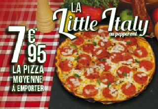 Pizza Little Italy - Juillet 2015