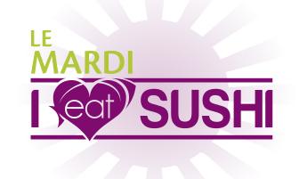 Juillet 2015 - Mardi I eat sushi