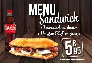 Février 2016 - Menu sandwich