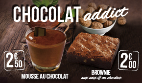 Janvier 2016 - Chocolat addict