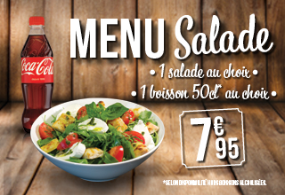 Mai 2016 - Menu Salade