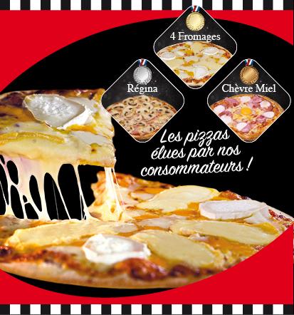 Pizzas élues