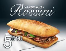 Le sandwich Rossini