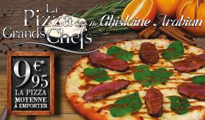 Pizza des Grands Chefs de Ghislaine Arabian - Novembre 2015