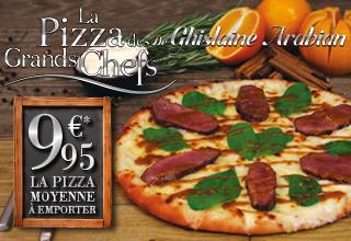 Pizza des Grands Chefs de Ghislaine Arabian - Nove