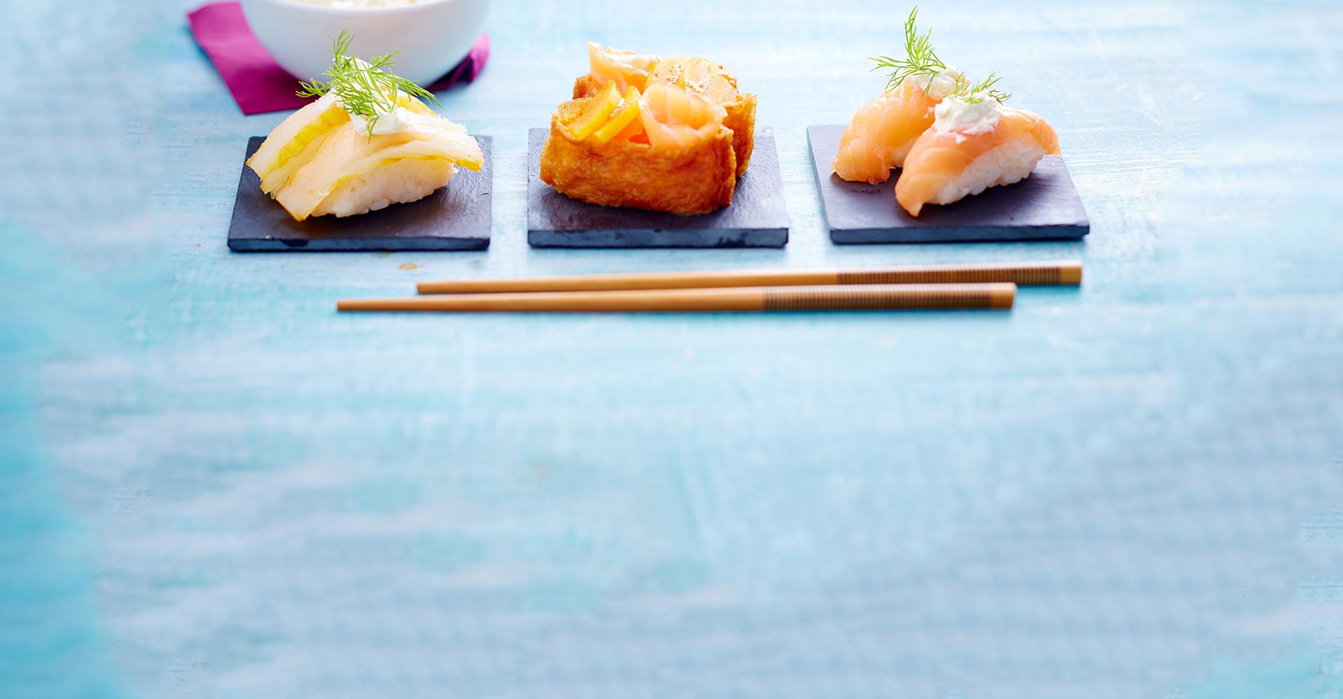 Trio Sushi - Septembre 2015