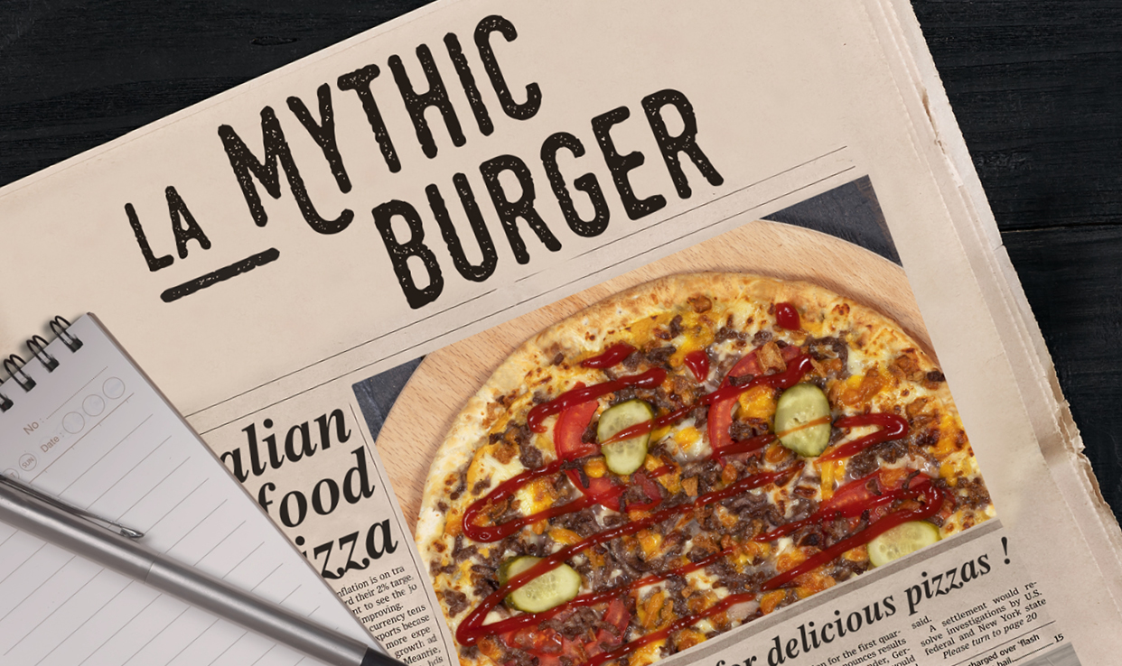 Pizza Mythic Burger