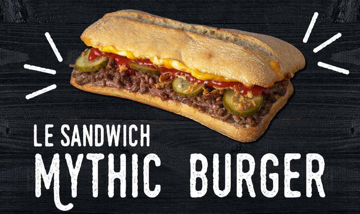 Sandwich Mythic burger