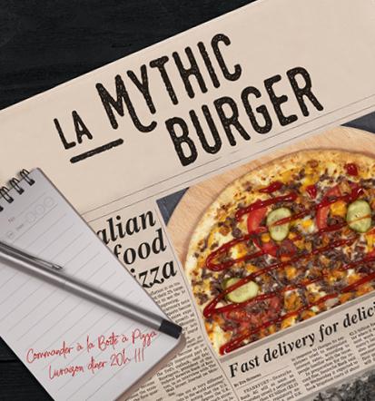 Pizza Mythic Burger